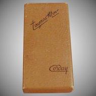 Vintage Corday Toujours Moi Perfume Box - Empty