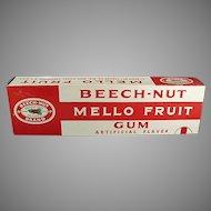 Vintage Beech Nut Gum Store Display - Large Mello Fruit Display Box