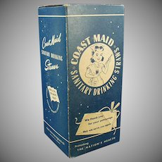 Vintage Coast Maid Paper Straws - Large 500 Size Box