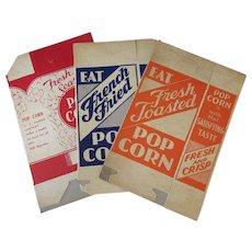 Three Different Vintage Popcorn Boxes – Never Used