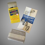 Vintage Glover's Medicated Bar Soap with Original Box