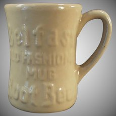 Vintage Belfast Root Beer Mug -  1950's Tepco China