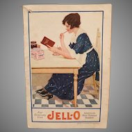 Vintage Jell-O Advertising Recipe Booklet Titled For Economy Use