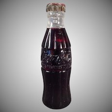 Vintage Miniature Coke Bottle Cigarette Lighter – 1950's Coca-Cola Advertising Premium