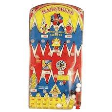 Vintage Marx Bagatelle Marble Toy Game ca. 1950's