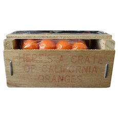 Vintage Promotional Mailer - Souvenir Orange Crate from Antioch California