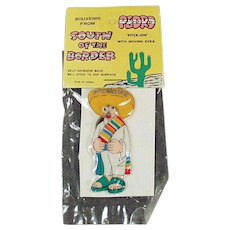 Vintage South of the Border Souvenir Toy - Pedro