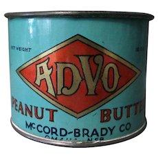 Vintage Advo Peanut Butter Tin – Unusual Measuring Cup