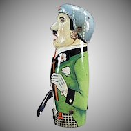 Vintage Sparking Friction Tin Toy from Germany