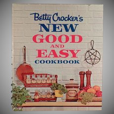 Vintage1962 Betty Crocker's New Good and Easy Cookbook Recipe Book