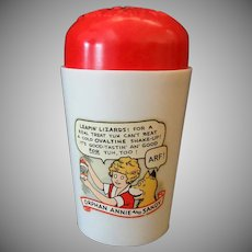 Vintage Orphan Annie and Sandy Ovaltine Shake-up – Very Good Condition