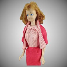 Vintage Mattel Midge Doll with Red/Titan Hair - #981 Busy Gal Outfit
