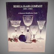Seneca Glass Company Reference Book - Stemware Identification Guide - Hardbound