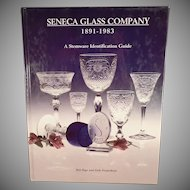 Seneca Glass Company Reference Book - Stemware Identification Guide - Hardbound