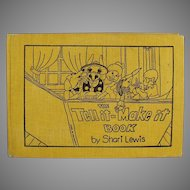 Children's Vintage Tell It Make It Project Story Book by Shari Lewis 1972