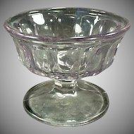 Vintage Soda Fountain Sherbet Dish - Sun Purple