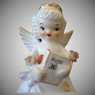 Vintage September Birthday Angel with 3R's School Book