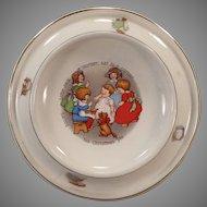 Vintage Royal Baby Plate Feeding Dish – Little Jack Horner Nursery Rhyme