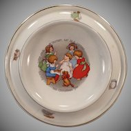 Vintage Royal Baby Plate Feeding Dish – Little Jack Horner Nursery Rhyme