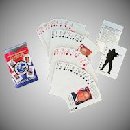 Vintage Operation Iraqi Freedom Playing Cards – U.S. Military Heroes Deck