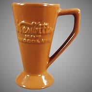 Vintage Nesbitts' Hot Chocolate Mug - Ceramic Cocoa Mug with Advertising