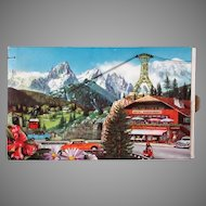Unusual Vintage Candy Box with Action Graphics – Chocolats Fjord
