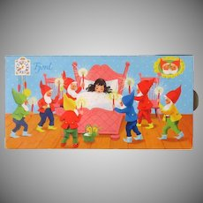 Vintage Candy Box with Snow White and Dwarfs – Pop-Up Action