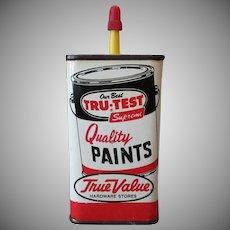 Vintage Master Mechanic Household Oil Tin – Tru-Test Paints Advertising