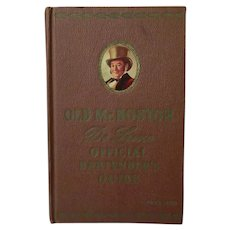 Vintage Old Mr. Boston DeLuxe Official Bartender's Guide Book – 1959 Drink Recipes