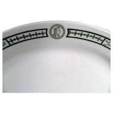 Vintage Restaurant China - Indian Motif Serving Platter - Burley and Co. Chicago