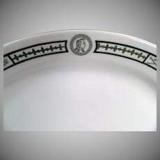 Vintage Restaurant China - Indian Motif Serving Platter - Burley and Co. Chicago
