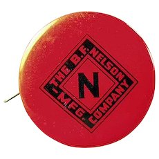 Vintage Celluloid Advertising Tape Measure - Nelson Roofing