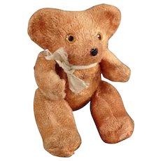 Vintage Miniature Bear - Little Plush Teddy Bear Tape Measure