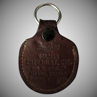 Vintage Leather Car Key Case – Holmes Chevrolet Kansas Advertising
