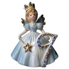 Vintage Josef Original #9 Birthday Angel - Age Nine Fairy