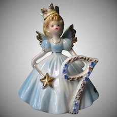 Vintage Josef Original #9 Birthday Angel - Age Nine Fairy