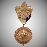Vintage Rainmaker's Carnival Pin – 1913 Idaho Semi-Centennial Commemorative