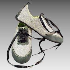 Vintage Sample Sneakers - Great Looking KangaRoos - Small Ladies Shoes
