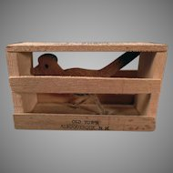 Vintage Albuquerque Promotional Souvenir Mailer – Roadrunner in a Crate