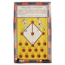 Vintage Dexterity Skill Game - #310 Comon Tatar's Point Baseball