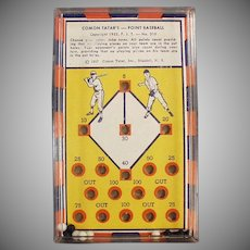 Vintage Dexterity Skill Game - #310 Comon Tatar's Point Baseball
