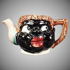 Vintage Black Mammy Teapot without a Lid - Old Black Memorabilia Planter