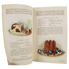 Vintage K C Baking Powder Advertising Recipe Booklet