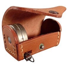 Vintage Polaroid Camera Accessory Lens Pouch with Tape Measure