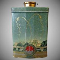 Vintage Talc Tin - Coty Au Parfum Paris