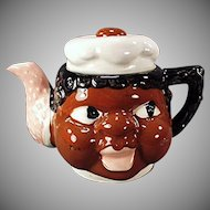 Vintage Black Memorabilia Mammy Teapot Made in Japan