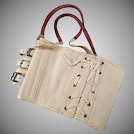 Vintage Medical Apparatus – Akron Truss Sacroiliac Brace with Original Box