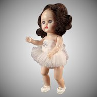 Vintage Cosmopolitan Ginger Doll - Bent Knee Walker Ballerina in Tutu