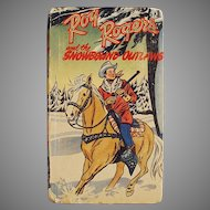 Vintage Better Little Book - 1949 Roy Rogers and the Snowbound Outlaws