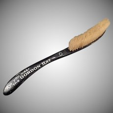 Vintage Advertising Hat Brush - Gordon Hat Brush for Old Felt Hats